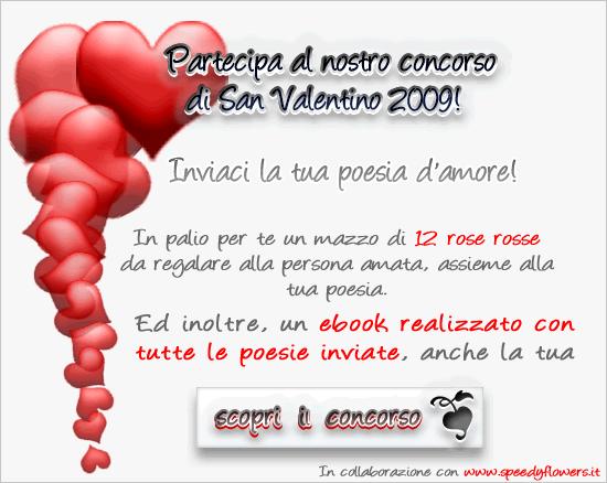 Concorso Poesie Di San Valentino 2009